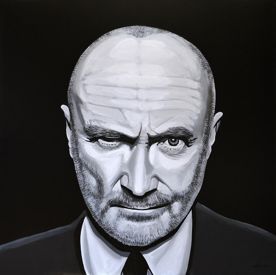 Phil Collins Painting - Phil Collins by Paul Meijering