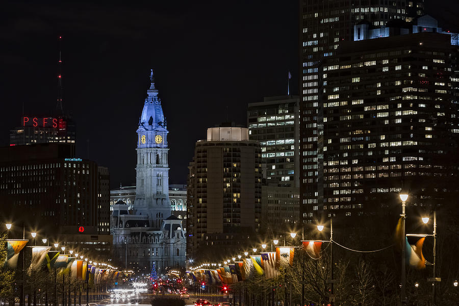 Philadelphia Photograph - Philadelphia City Hall by Eduard Moldoveanu