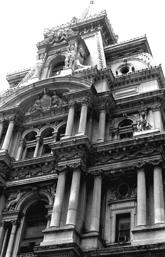 City Hall Photograph - Philadelphia City Hall   by Vickie G Buccini