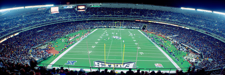 Color Image Photograph - Philadelphia Eagles Nfl Football by Panoramic Images
