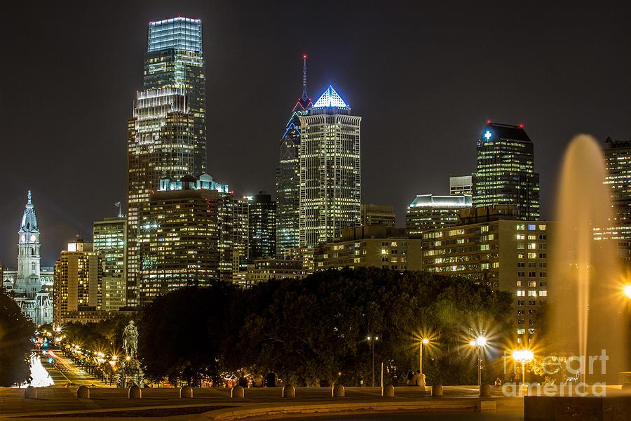 Philadelphia Lights Photograph