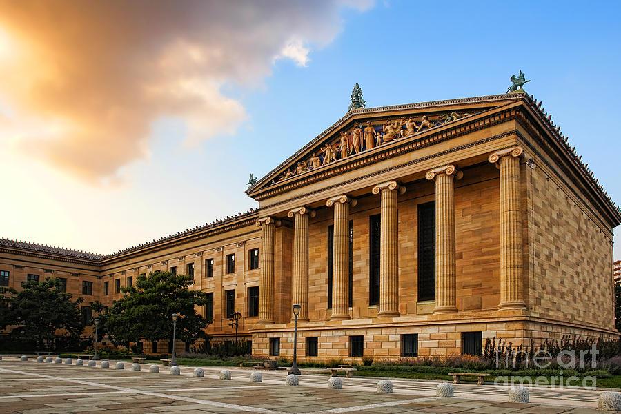 Philadelphia Photograph - Philadelphia Museum Of Art by Olivier Le Queinec