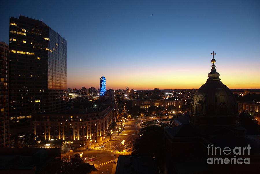 Philadelphia Photograph - Philadelphia Night by Tatianne Lugo