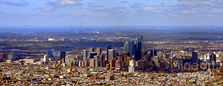 Philadelphia Photograph - Philadelphia by Olivier Le Queinec
