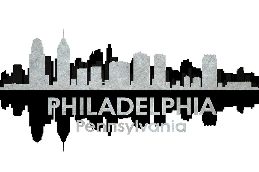 Philadelphia Mixed Media - Philadelphia Pa 4 by Angelina Vick