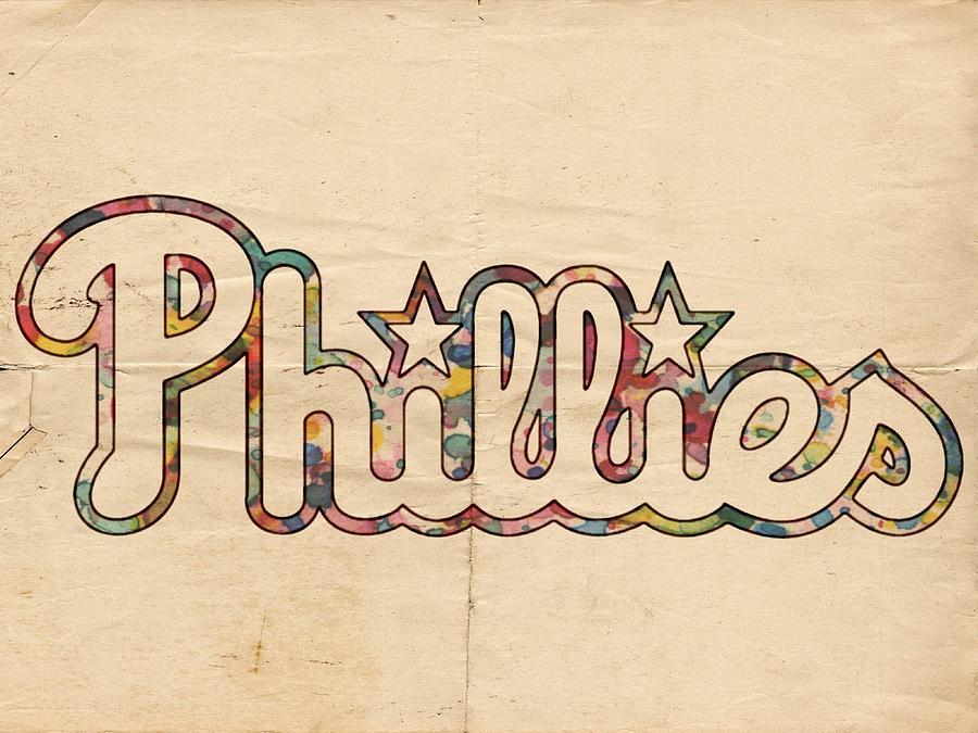 Philadelphia Phillies Painting - Philadelphia Phillies Poster Art by Florian Rodarte