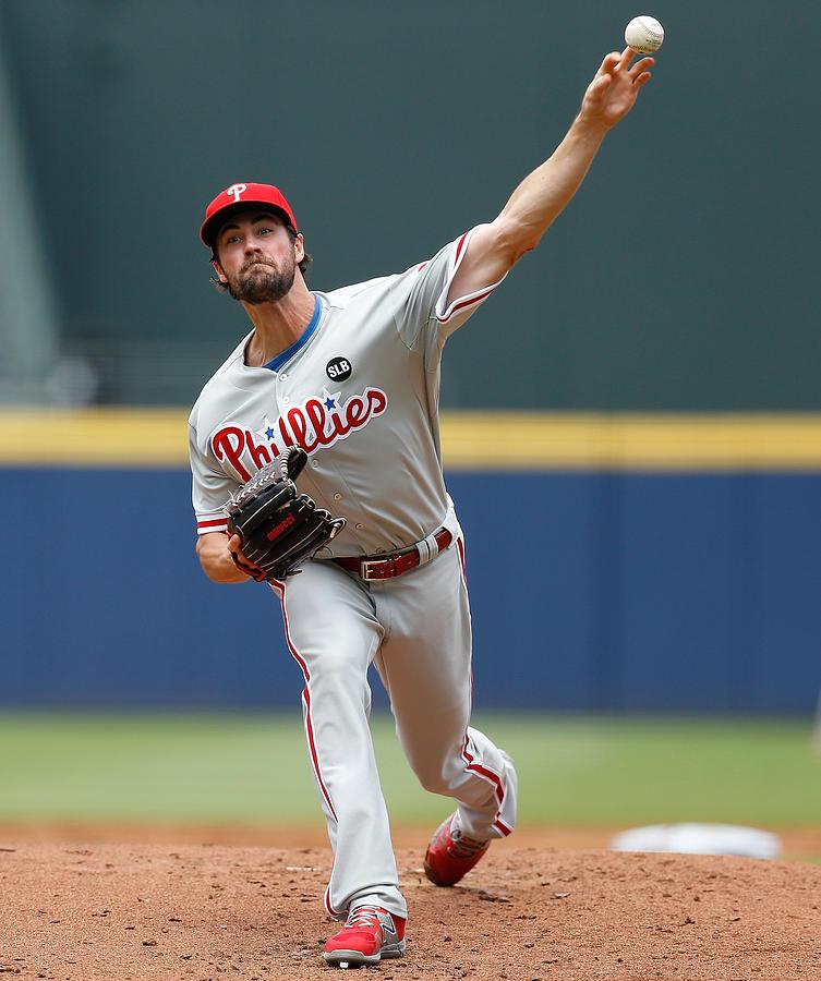 Philadelphia Phillies v Atlanta Braves Photograph by Mike Zarrilli