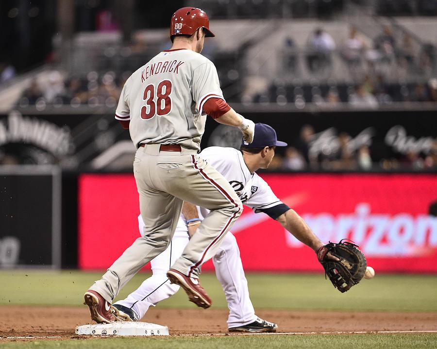 Philadelphia Phillies v San Diego Padres Photograph by Denis Poroy