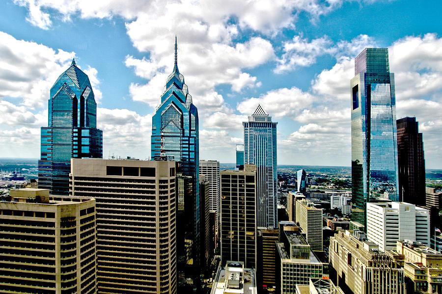 Cities Photograph - Philadelphia Skyline by Frank Savarese