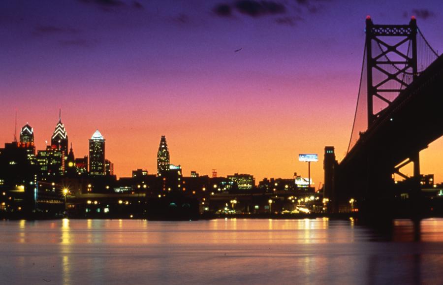 Philadelphia Skyline by Retro Images Archive