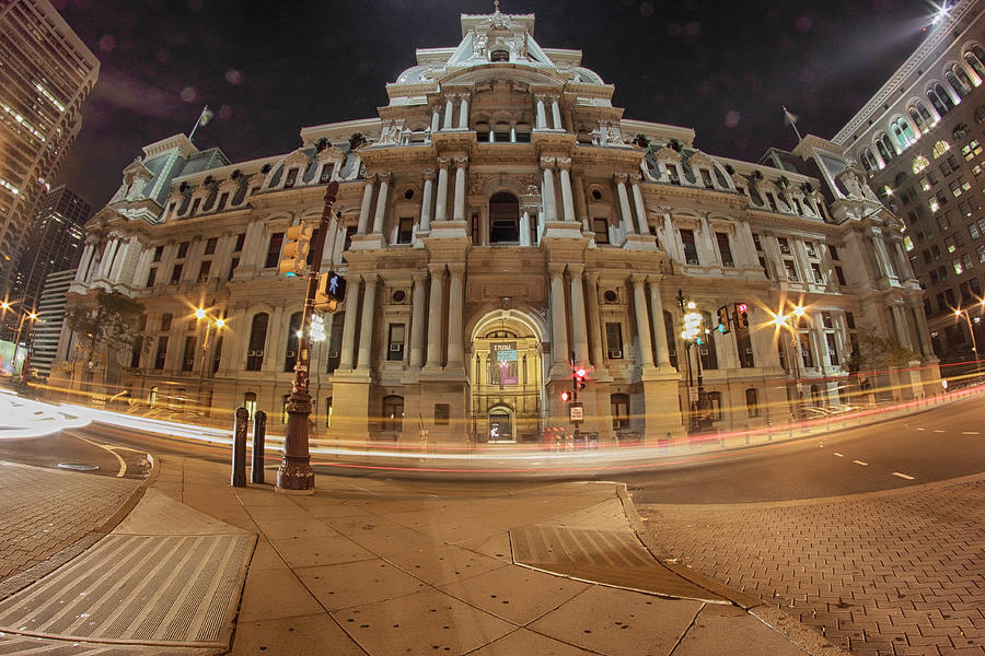 Philadelphia's Golden Glow  by Paul Watkins