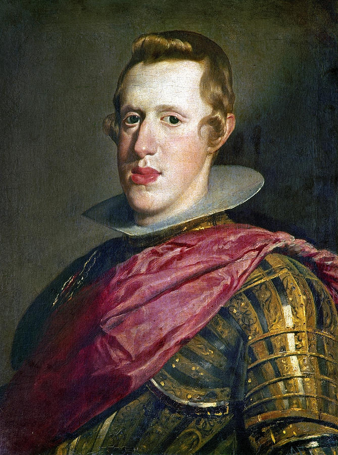 Philip Iv Of Spain 1605 1665 Painting By Granger