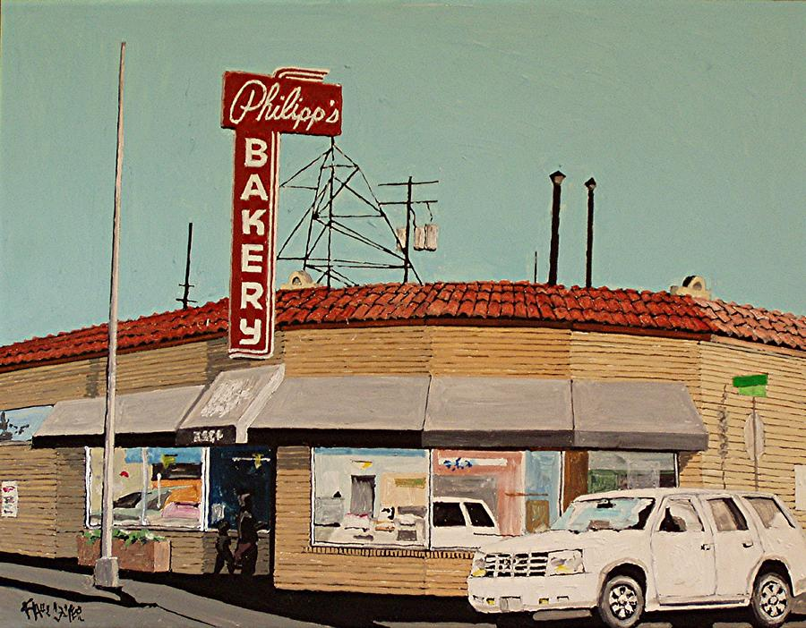 Sacramento Painting - Philipps Bakery No. 2 by Paul Guyer