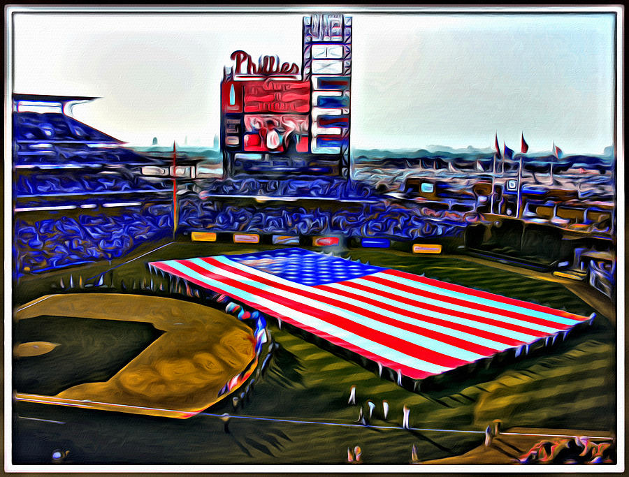 Phillies American Photograph by Alice Gipson
