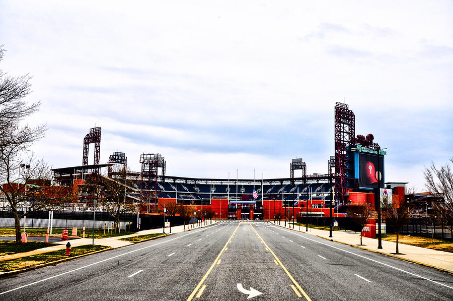 Phillies Photograph - Phillies Stadium - Citizens Bank Park by Bill Cannon