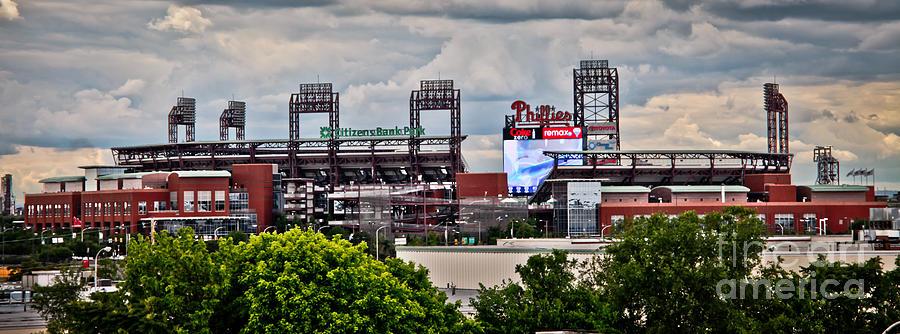 Philadelphia Photograph - Phillies Stadium by Stacey Granger