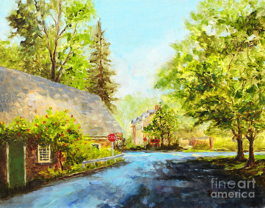 Mill Painting - Phillips Mill by Paint Box Studio