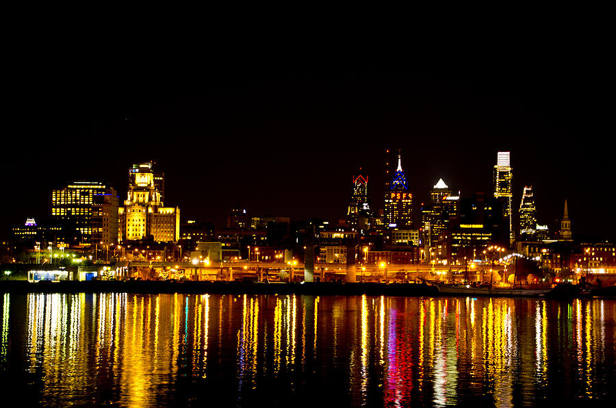 Philadelphia Photograph - Philly Nights by Bill Cannon