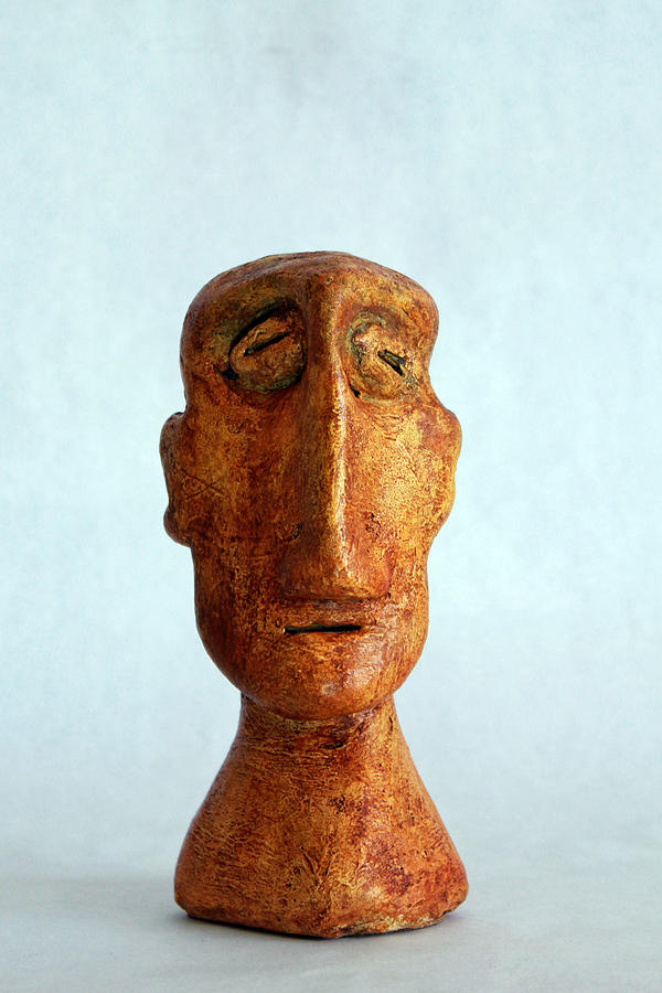 Sculpture Sculpture - Philosophers No. 2 by Mark M  Mellon