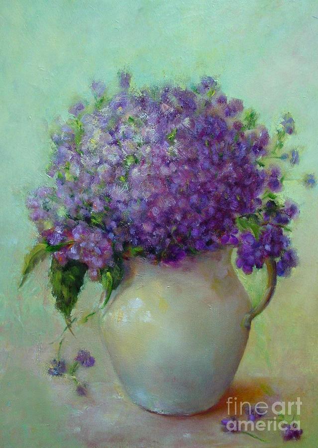 Phlox          Copyrighted Painting by Kathleen Hoekstra