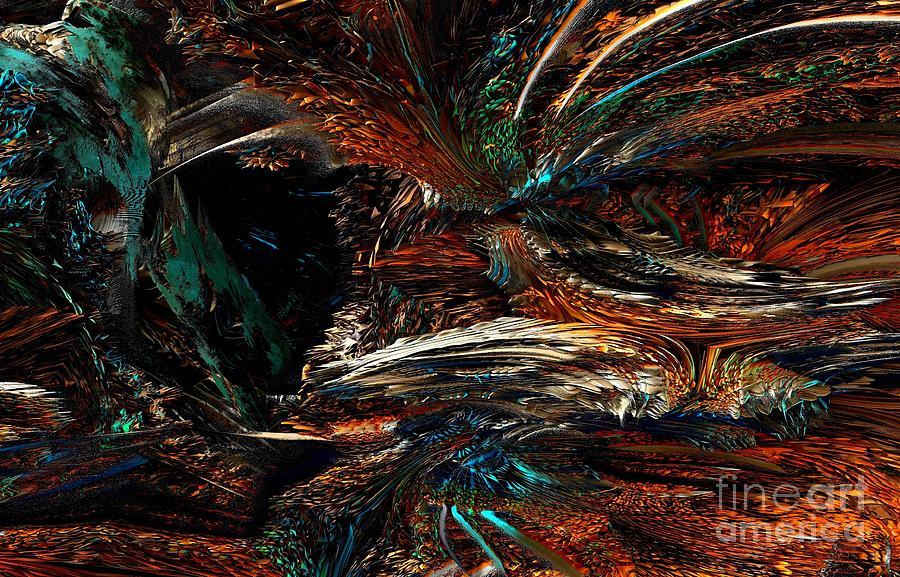 Digital Digital Art - Phoenix by Bernard MICHEL