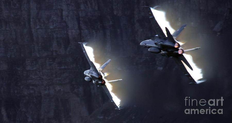 F18 Photograph - Phoenix Dancing by Angel  Tarantella