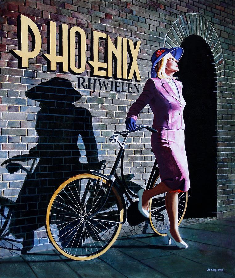 Phoenix Painting - Phoenix by Jo King