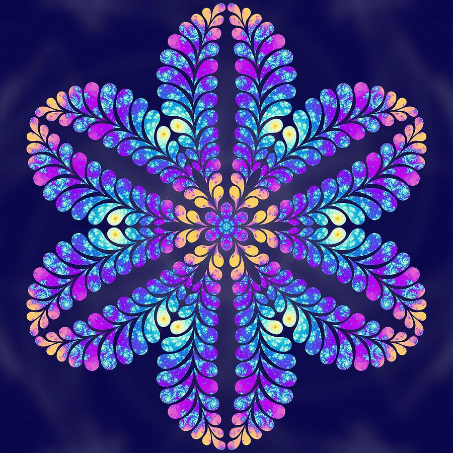 Sacred Digital Art - Phoenix Rising by Derek Gedney