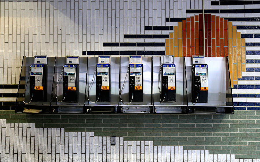Pay Phones 1 Photograph