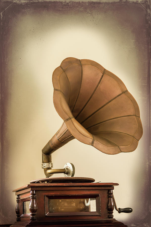 Phonograph Record Player Photograph by Gary S Chapman
