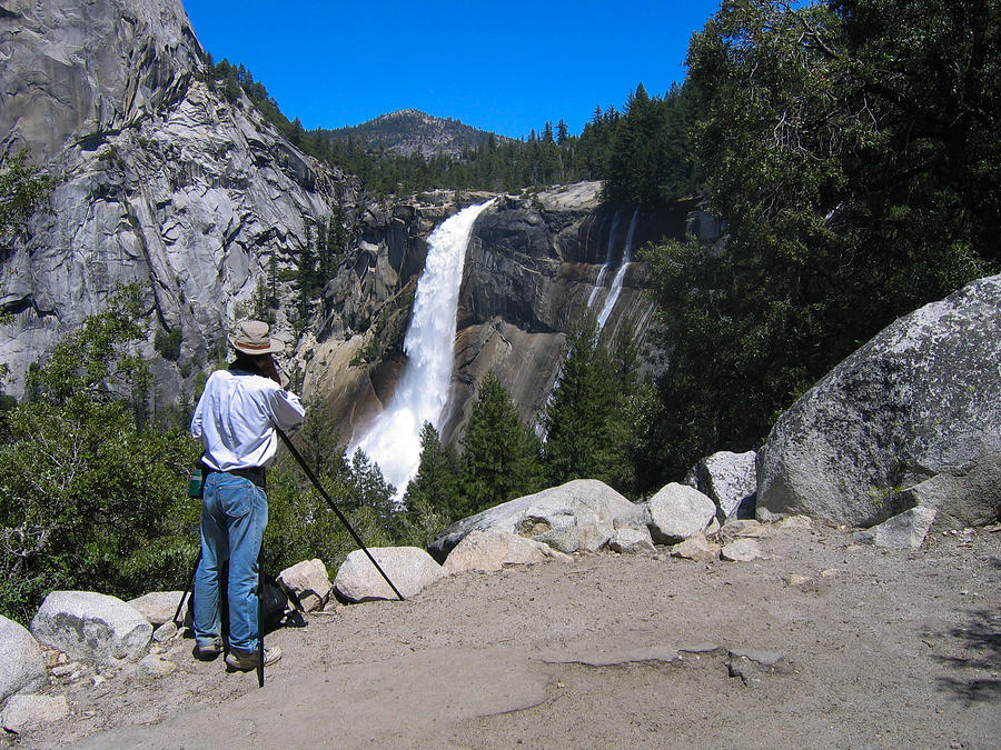 Photographer at Yosemite National Park by Stephen Haunts