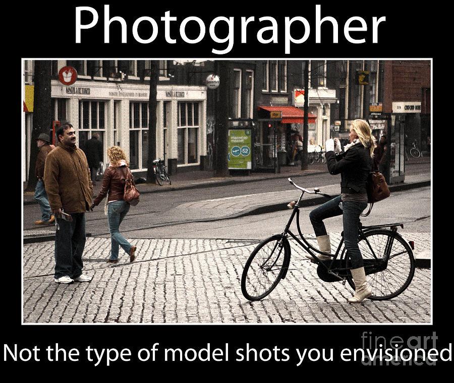Photographer Photograph - Photographer by John Rizzuto