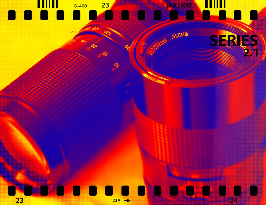 Lens Photograph - Photographic Lenses by Phil Perkins