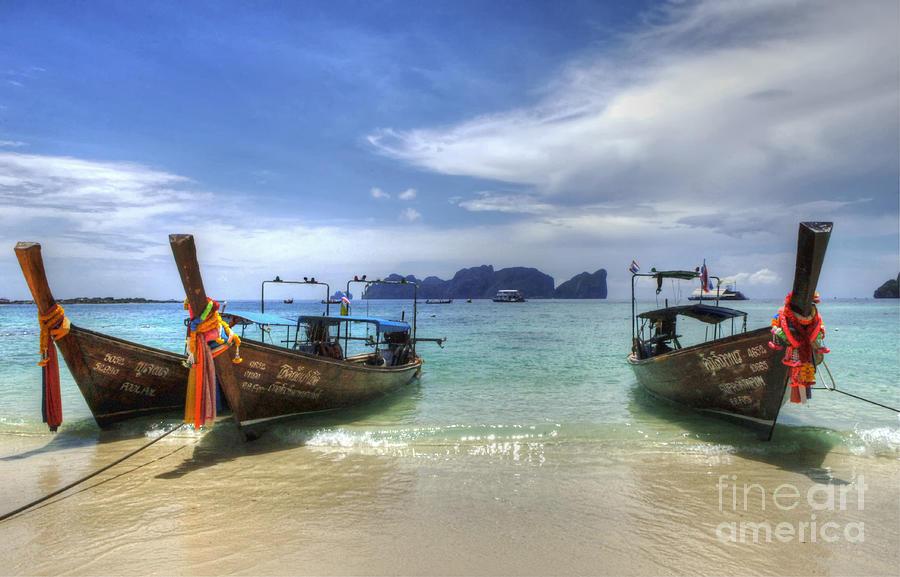 Phuket Photograph - Phuket Koh Phi Phi Island by Bob Christopher
