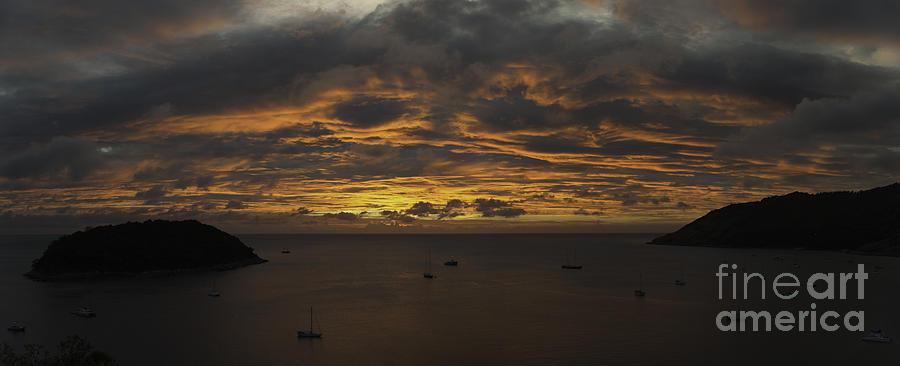 Phuket Photograph - Phuket Sunset by Alex Dudley