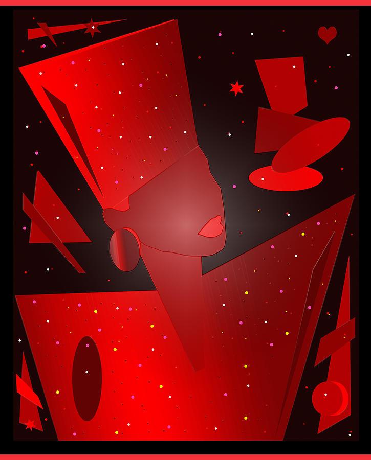 Phyllis Hyman Digital Art by Victor Bailey