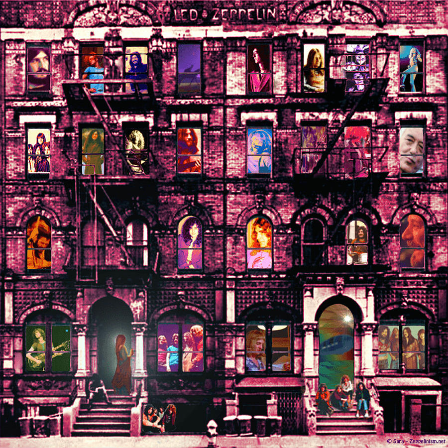 Led Zeppelin Digital Art - Physical Graffitied  by Sara Pixel Pixie
