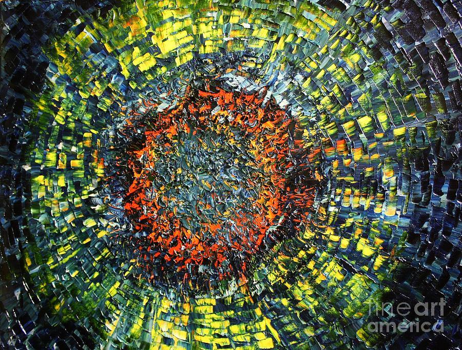 Supernova Painting - Physiological Supernova by Michael Kulick