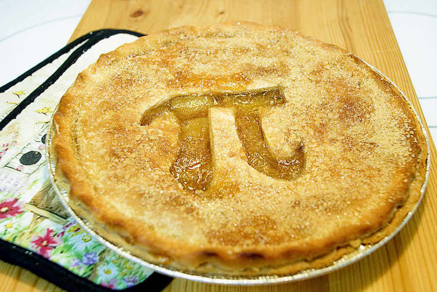 Pi Pie Photograph by Perry Gerenday