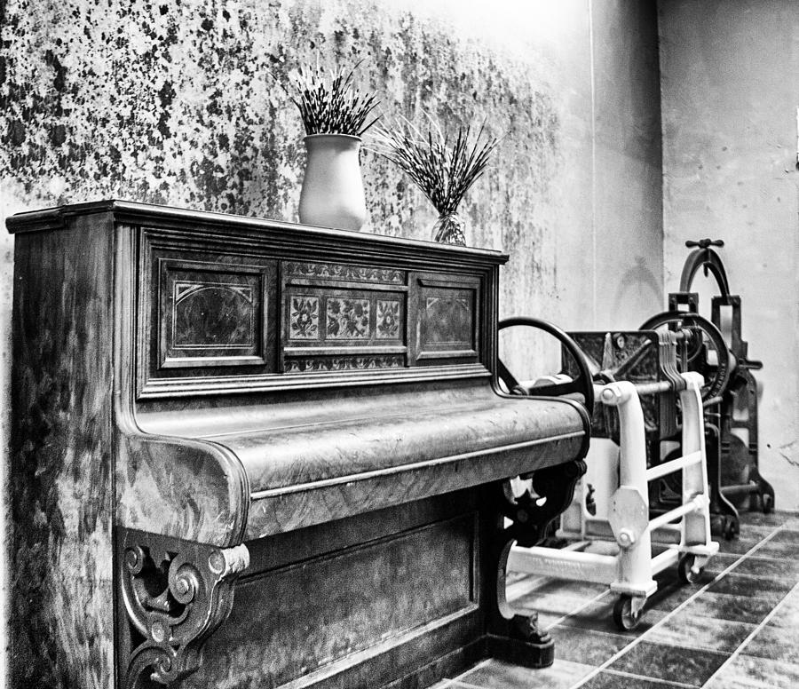 Piano Photograph - Piano by Ben Osborne