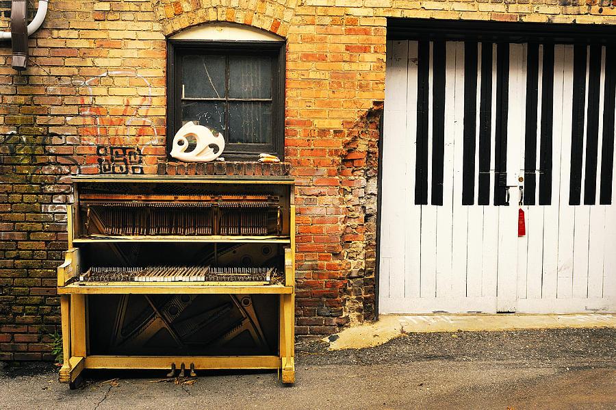 Piano Photograph - Piano Keys by Joe Longobardi