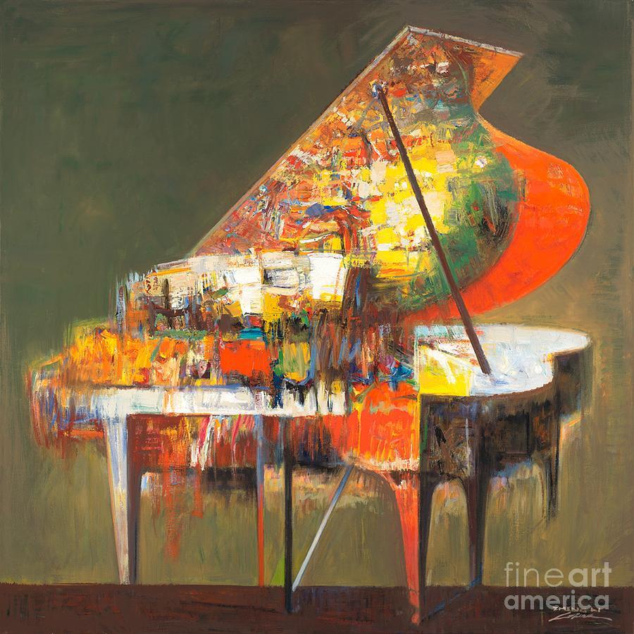 Piano Painting - piano No.22-Classical music by Zheng Li