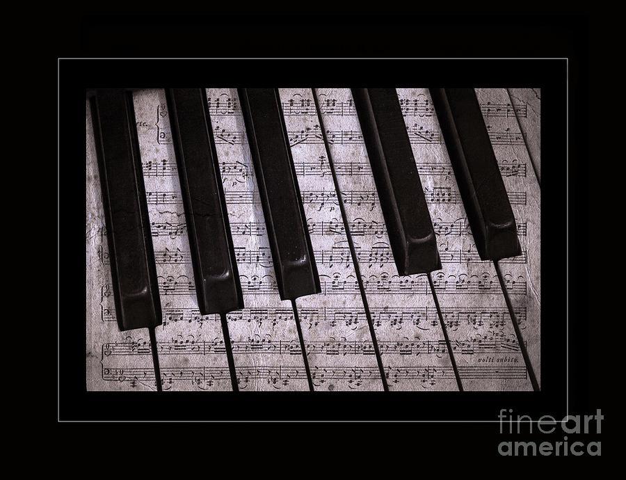 Piano Photograph - Pianoforte Classic by John Stephens