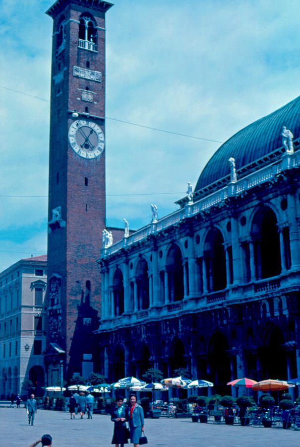 Piazza Photograph - Piazza del Signore 2 1962 by Cumberland Warden