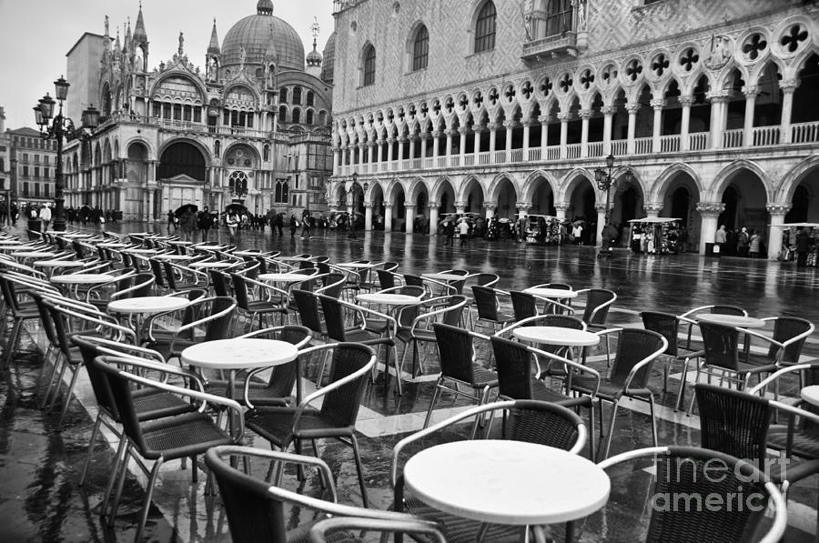 Venice Photograph - Piazza San Marco Venice by Design Remix