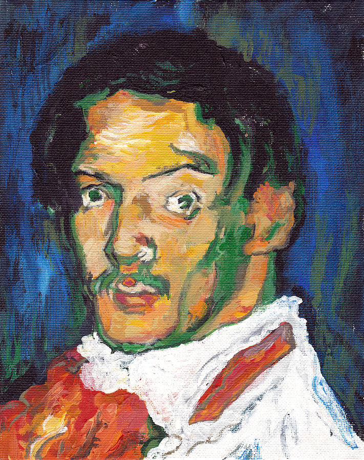Picasso Painting - Picasso by Tom Roderick