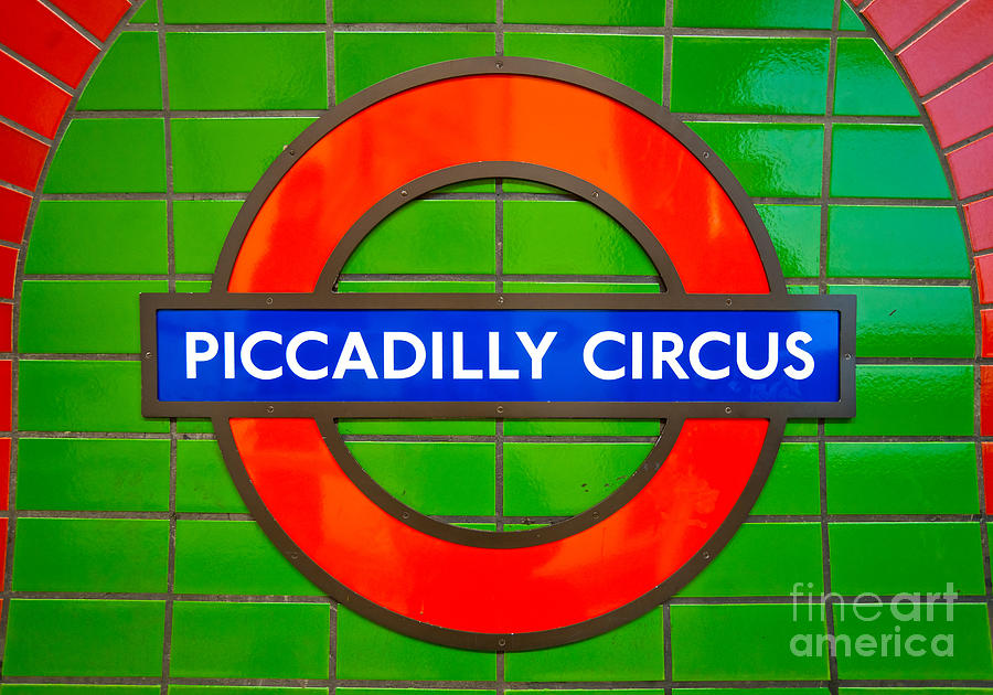 Piccadilly Circus Tube Station Photograph By Luciano Mortula