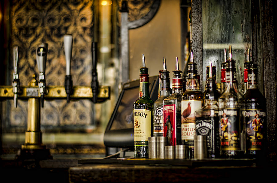 Alcohol Photograph - Pick Your Poison by Heather Applegate