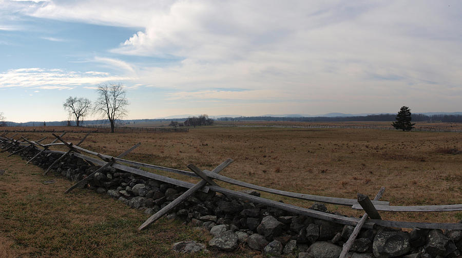 Gettysburg Photograph - Picketts Charge The Angle by Joshua House
