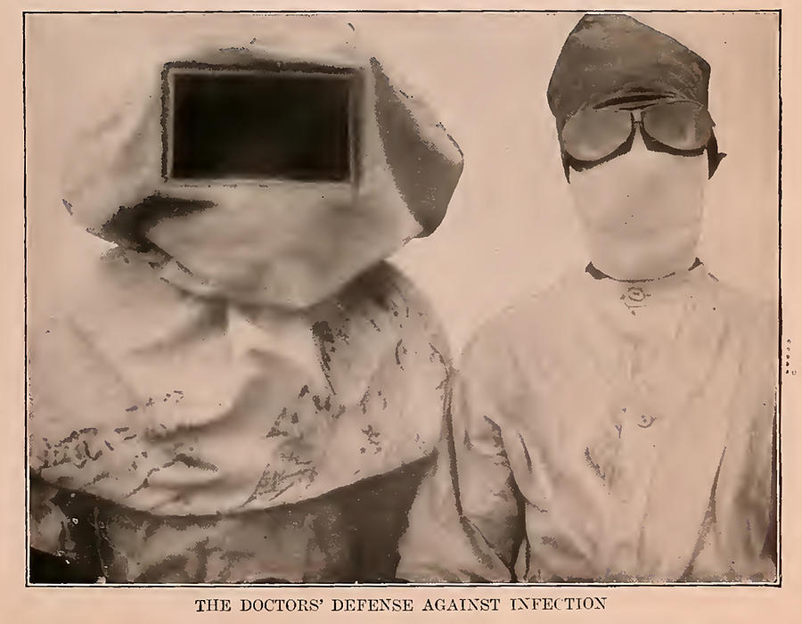 Pictorial History Of 1913 The Doctors Defense Against Infection Mixed Media